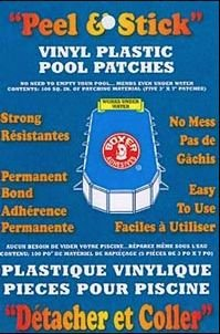Boxer Adhesives Peel and Stick Vinyl Plastic Pool (Hot Tub Liners)
