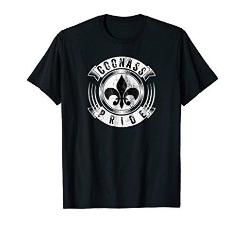 - Coonass Pride Fleur De Lis Louisiana Cajun Creole Gift Shirt