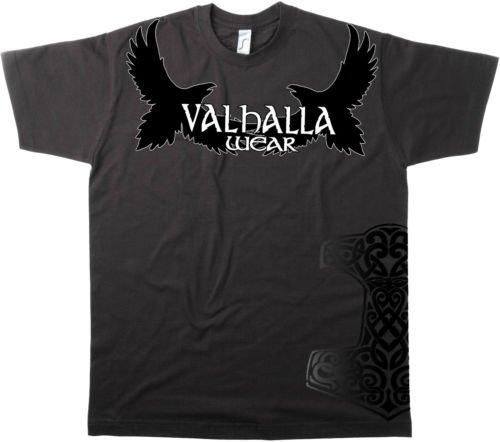 Valhalla Wear® T-Shirt Schwarz