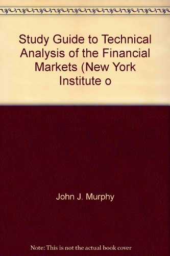 Download Study Guide To Technical Analysis Of The Financial Markets