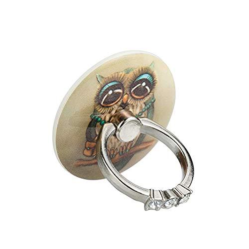 Owl Phone Ring Holder, 360