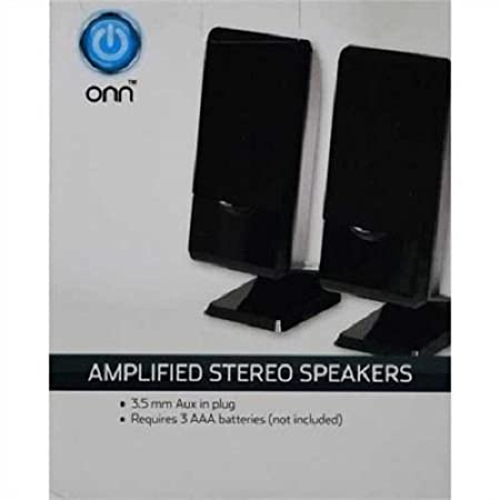 Review Onn ONA16AA008 Amplified Stereo