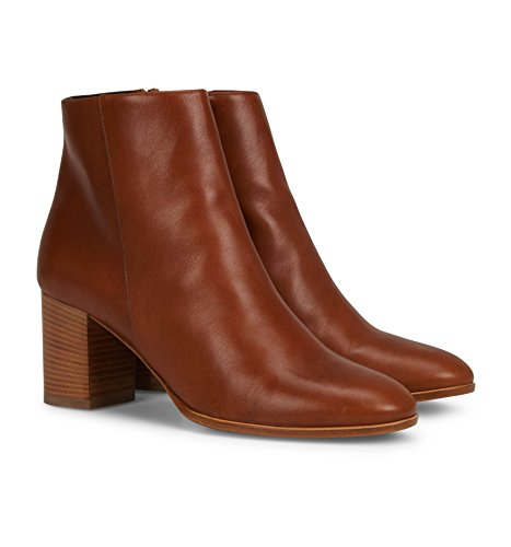 b4ballerinas Tan Leather Ankle Boots