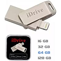 Protable 64 GB USB Flash Driver for Apple Device with Lightning Port (64GB)