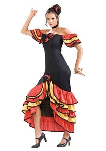 Forum Novelties Women's Spanish Lady Costume, Multicolor, Standard
