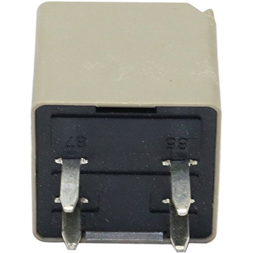 Relay compatible with Oldsmobile Cutlass Supreme 85-97 / Sierra Pickup 99-07 30 Amp 12 V Pin Terminal Type