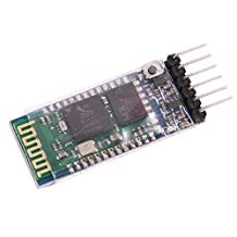SODIAL(R) Wireless Serial 6 Pin Bluetooth RF Transceiver Module HC-05 RS232 Free Cable
