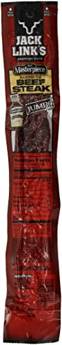 Jack Link's Premium Cuts Beef Steak, KC Masterpiece BBQ, Jumbo, 2-Ounce (Pack of - Brand Sauce Best Bbq