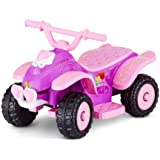 Kid Trax 6V Disney Princess Powered Wheels Quad Battery Ride on Toys for Toddler