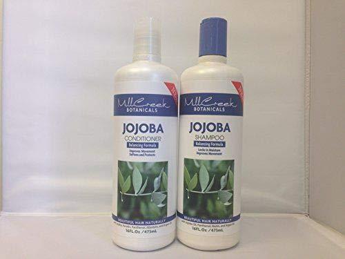 Mill Creek Botanicals Jojoba Shampoo and Conditioner Bundle (Mill Creek Botanicals Aloe Vera Shampoo Reviews)