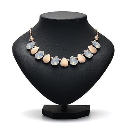 Oaonnea Women Gold Chains Choker Necklace Water Drop Pendant Statement Collar Necklaces (waterdrop necklace) by Oaonnea (Image #1)