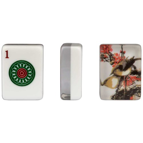 Yellow Mountain Imports Set of 166 American Mahjong (Mah Jong, Mahjongg, Mah-Jongg, Mah Jongg) Tiles, ''Little Bird'' by Yellow Mountain Imports