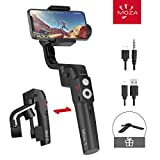 MOZA Mini-S 3 Axis Smartphone Gimbal Foldable Extendable, for iPhone 8 Plus/x Samsung