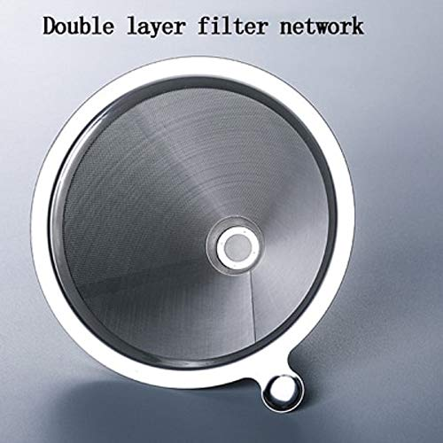 Coffee Pots Heat Resistant Glass Coffee Pots Have Double Layer Filter Network (Only Filter)