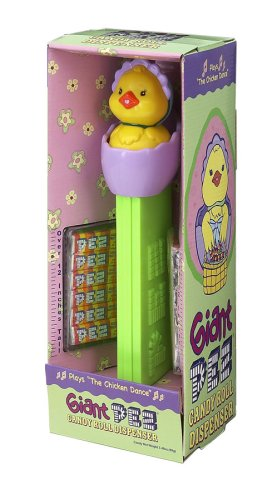 Giant PEZ Easter Chick Candy Dispensers, 1-Count
