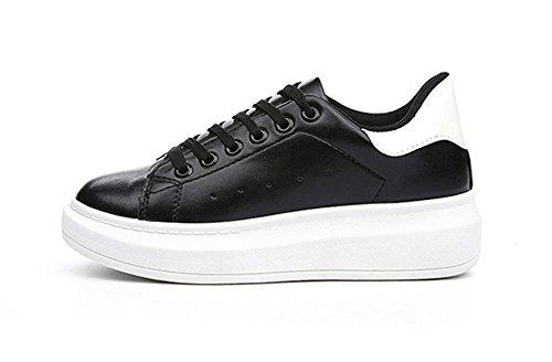 dearWYW Womens Modern Edgy Casual Fashion Sneaker Black WnlV6OJfN