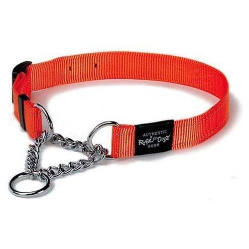 ROGZ Reflective Nylon Choke Collar; Slip Show Obedience Trai