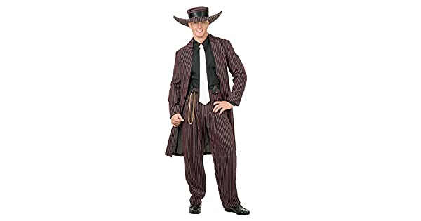 Amazon.com: Charades Disfraces para hombre ZOOT traje (/rosa ...