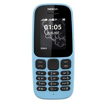 Nokia 105 Double SIM - Feature Phone GSM, Écran QQVGA Amélioré 1,8 pouces