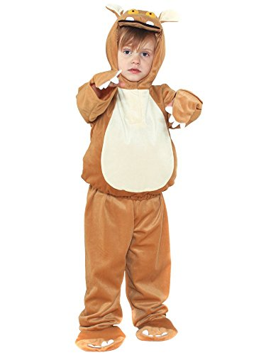Toddlers Official Licensed the Gruffalo's Child Fancy Dress Party Costume