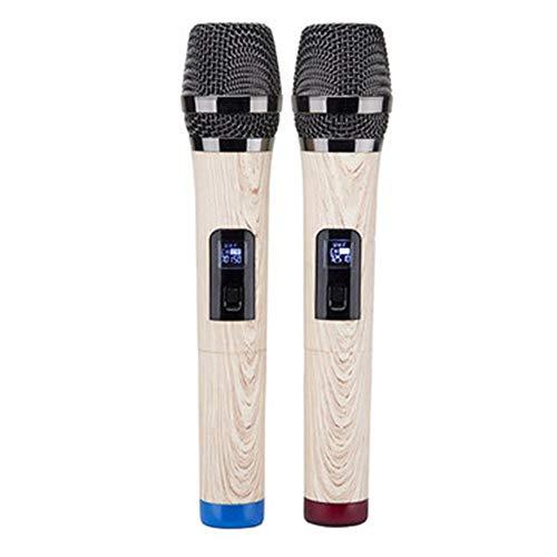 Hancoc Home Draadloze Microfoon om Live Outdoor Stage U SECTIE HANDHELD-microfoon te zingen Geluid Zelfs één met twee 23…