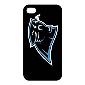 Custom Carolina Panthers NFL Back Cover Case for iphone 4,4S JN4S-1260