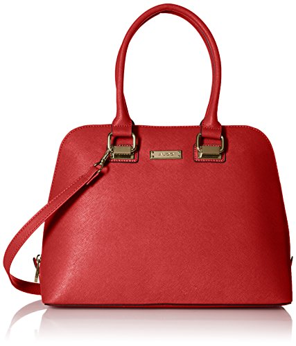 Aldo Chesa Top Handle Handbag  Red