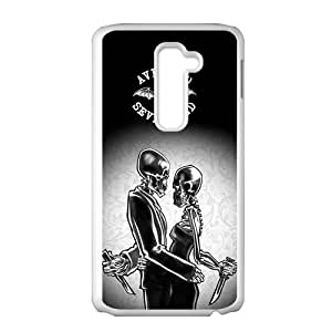 Creative Skeleton Pattern Fahionable And Popular Back Case Cover For LG G2