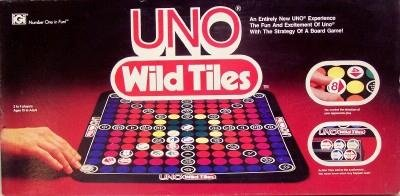 UNO Wild Tiles by UNO Wild Tiles Board Game.