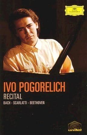 Amazon Com Ivo Pogorelich Recital Dvd 2005 Movies Tv