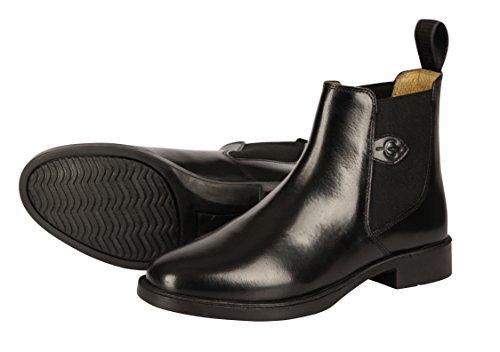 37 Classic negro hípica chaparreras Polainas de Kerbl Reitette talla 0p5w8qX