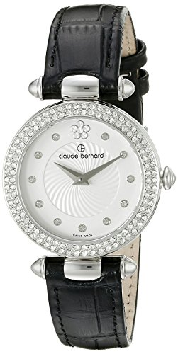Claude Bernard Women's 20504 3P APN2 Dress Code Analog Display Swiss Quartz White Watch
