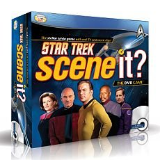 (Star Trek Scene It Game With DVD Trivia Questions Space)
