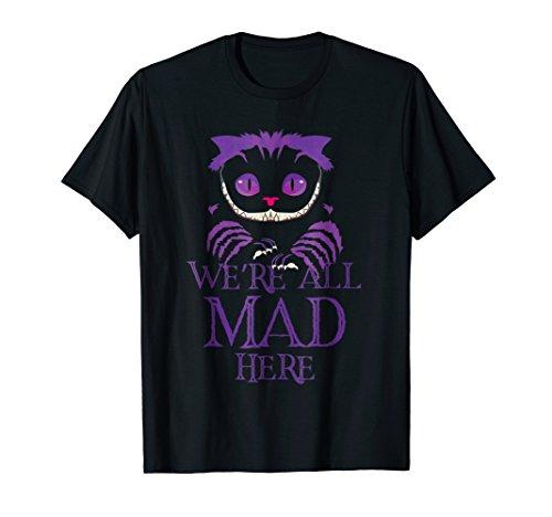 Evil Cheshire Cat T-Shirt - Halloween Tshirt - Spooky Shirt ()