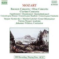 Mozart: Oboe/Bassoon/Clarinet Concertos