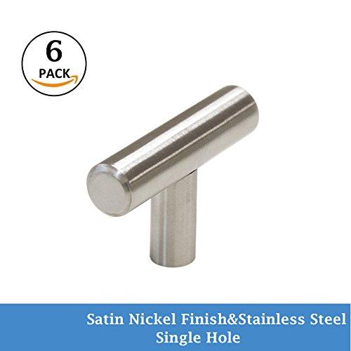 dresser knobs stainless - 6