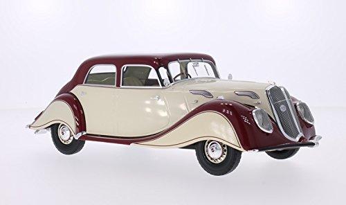 Panhard & Levassor Dynamic, beige dunkelrot 1936 BoS-Models, von BoS-Models, 1936 Maßstab 1 18 - Resine - Fertigmodell 42e369