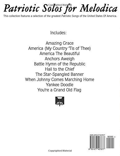patriotic solos for melodica 10 patriotic songs of the usa uncle sam amazoncom books - Patriotic Songs