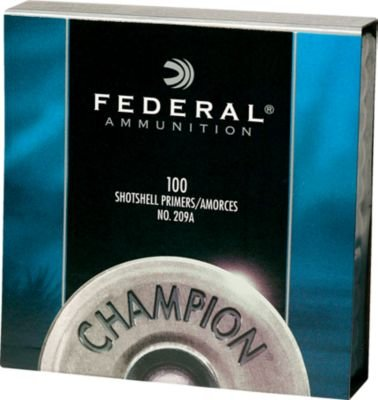 (FEDERAL CARTRIDGE/VISTA FED 209A Shotgun PRIMR 1000/5)