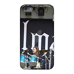 Scratch Protection Hard Phone Cover For Iphone 6plus With Custom HD Kalmah Band Pattern Marycase88