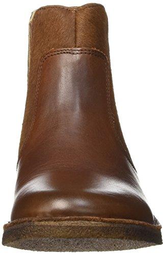 Kickers Women's Creboots Ankle Boots, Camel Brown - Braun - Braun