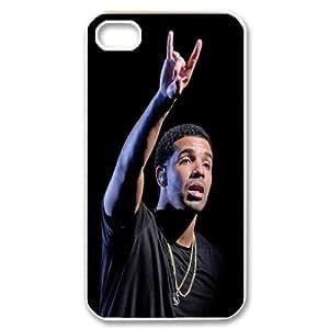 Unique Phone Case Design 6Famous Singer Drake- For Iphone 4 4S case cover