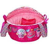 Distroller New Ksimerito Nerlie Neonate Baby Pink Bassinet Baby Crib by