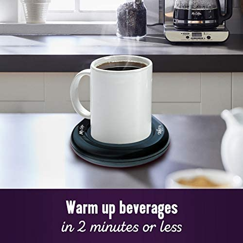Mr. Coffee Mug Warmer, Home, Office, Black