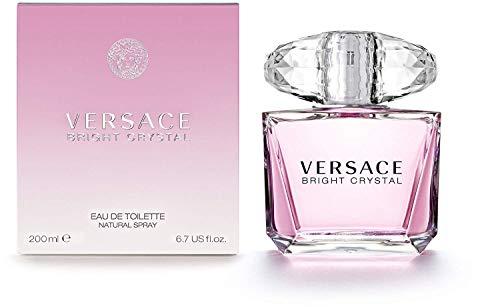 Bright Crystal by Vêrsace For Women Eau de Toilette Spray 6.7 fl.oz./200 ml (Versace Bright Crystal Eau De Toilette 200 Ml)