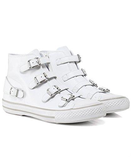 Ash Zapatos Venus Zapatillas de Cuero Blanco Mujer Blanco