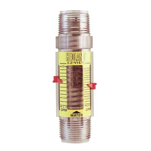 - Hedland Flow Meters (Badger Meter Inc) H621-028 - Flow Rate Hydraulic Flow Meter - 28 gpm Max Flow Rate, 1 NPTF in Port Size