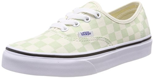 White Classic Vans Authentic Q8j Checkerboard Green Ambrosia P4PvX6q