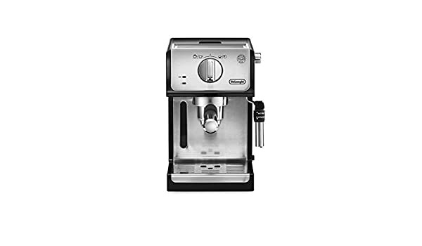 Cafetera Máquina de café Inteligente máquina de café semiautomática doméstica máquina de café con Bomba máquina de café de Oficina Comercial (Color : Silver, Size : 20 * 25 * 30cm): Amazon.es: Hogar
