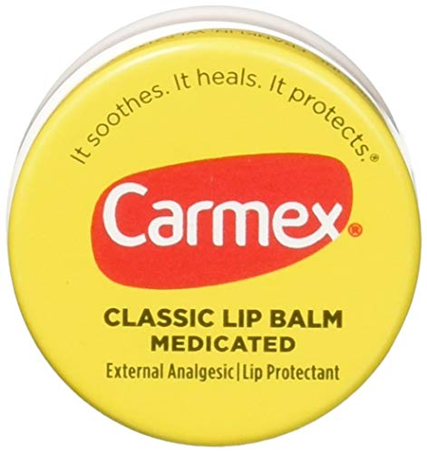 (Carmex Classic Lip Balm Medicated 0.25 oz (Pack of 12))